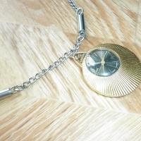Позлатен часовник Слава Медальон-Колие