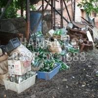 Почистване на двор с Хамал.бг