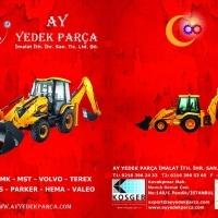 "JCB spare parts from Turkey ""Ayyedekparca """