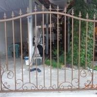 метални беседки, арки, пейки, цветарници