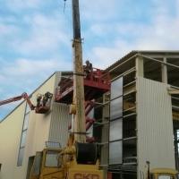 Предлагам услуги с автокран 20 тона 21 метра