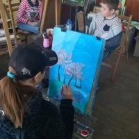 Детска школа по рисуване уикенд занимания