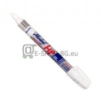 Маркер за метал за омаслени повърхности Pro-Line HP, бял, 3mm, 96960, MARKAL
