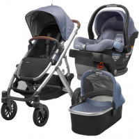 2019 UPPAbaby Vista Trolley & Mesa Car Seat Comprehensive Travel System