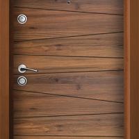 Нова Входна Блиндирана врата Хармония пригодена за обличане на лята метална каса